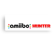 The Amiibo Hunter Shirt #2 Canvas Print