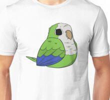 Quaker Parrot (green) Unisex T-Shirt