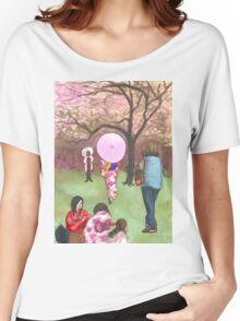 ladies with parasols Women's Relaxed Fit T-Shirt