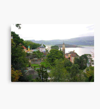 Portmeirion Village Canvas Print
