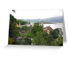 Portmeirion Village Greeting Card