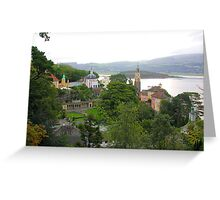 Portmeirion Village Greeting Card