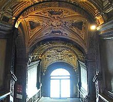 Inside of Doges Palace, Venice by chord0