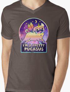I'm a Pretty Pugasus  Mens V-Neck T-Shirt