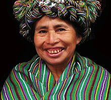 MAYAN LADY - NEBAJ by Michael Sheridan