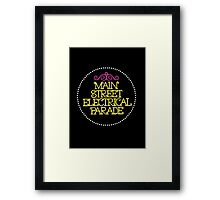ladies and gentlemen, boys and girls Framed Print