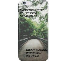 Night Changes 5/5S Case iPhone Case/Skin
