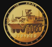Golden Stryker Medal by Lotacats