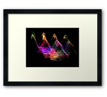 A Walk In The Night-Available As Art Prints-Mugs,Cases,Duvets,T Shirts,Stickers,etc Framed Print
