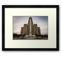 Niagara Square Framed Print