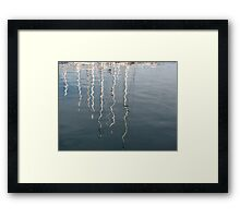 Nautical Reflections Framed Print