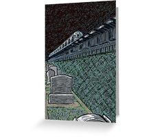 washington cemetery Greeting Card