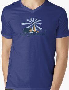 Cape Elizabeth. Mens V-Neck T-Shirt