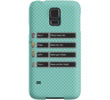 Your Name, Please Samsung Galaxy Case/Skin