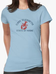 Cape Elizabeth.  Womens Fitted T-Shirt