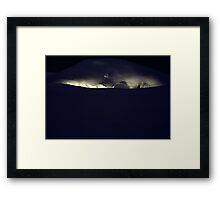 Darkness Could Not Overpower It Framed Print
