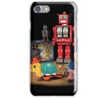 Vintage Robot & Friends iPhone Case/Skin