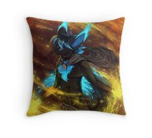Fuel to the fire Throw Pillow