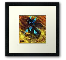 Fuel to the fire Framed Print