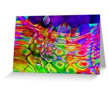 Abstractions-Available As Art Prints-Mugs,Cases,Duvets,T Shirts,Stickers,etc Greeting Card