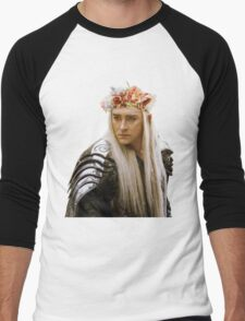 Flower Crown Thranduil Men's Baseball ¾ T-Shirt