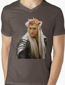 Flower Crown Thranduil Mens V-Neck T-Shirt