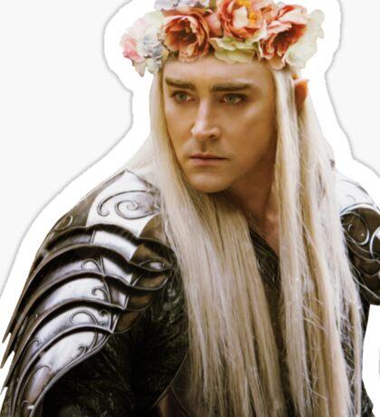 Flower Crown Thranduil Sticker