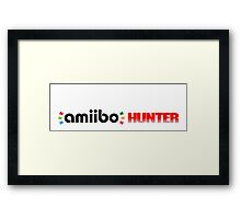 The Amiibo Hunter Shirt #3 Framed Print