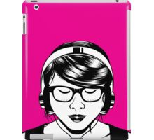 Headphones Girl iPad Case/Skin