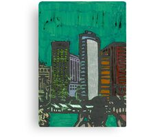 skyline (in color) Canvas Print