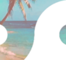 Beach Zen Sticker