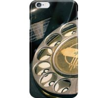 Antique Telephone iPhone Case/Skin
