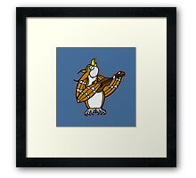 Singing Owl - The Owl & the Pussycat Framed Print