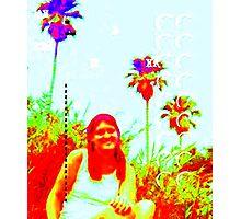 Me as Zappa, Malibu Photographic Print