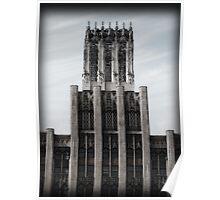 Castle Building Poster