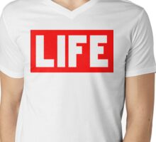 LIFE | Fresh Thread Shop Mens V-Neck T-Shirt