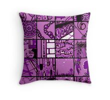 all the things i love Throw Pillow