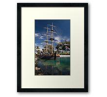 Endeavour Replica Framed Print
