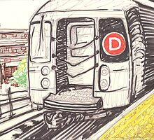 the d train by purplestgirl