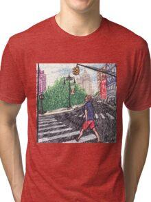 intense speedwalker Tri-blend T-Shirt