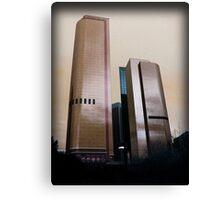 Bank Buildings Canvas Print