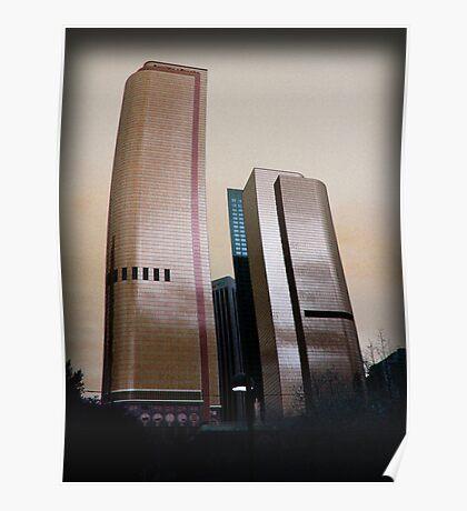Bank Buildings Poster