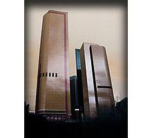 Bank Buildings Photographic Print