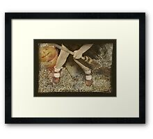 bewitching hour....  Framed Print