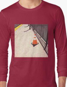 orange traffic cone Long Sleeve T-Shirt
