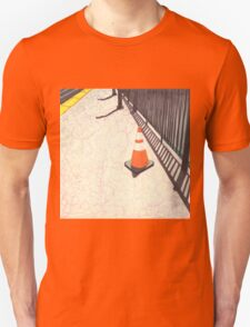orange traffic cone Unisex T-Shirt