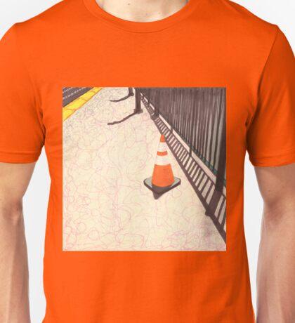 orange traffic cone Unisex T-Shirt