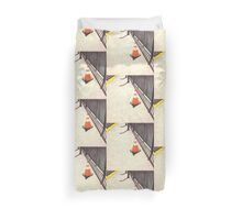 orange traffic cone Duvet Cover