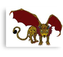 Leopard Dragon  Canvas Print
