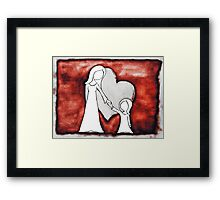 I Love You 2 Framed Print